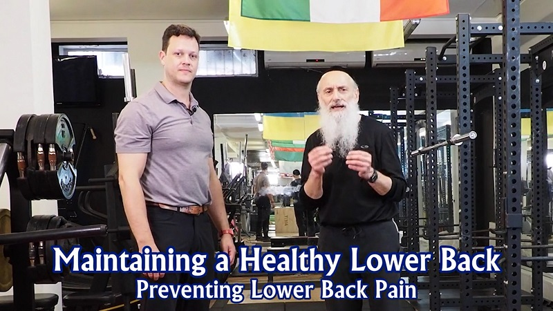 Brodie Meets Brody: Maintaining a Healthy Lower Back