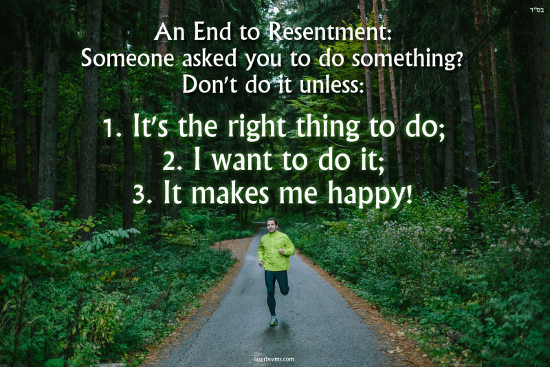An End to Resentment